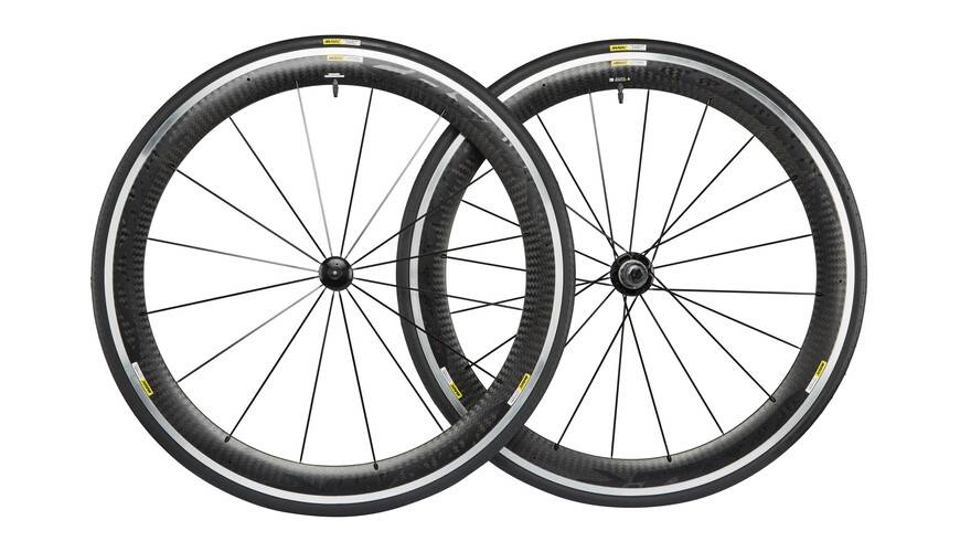 Mavic Cosmic Pro Carbon hjul 23 Shimano M10 sort